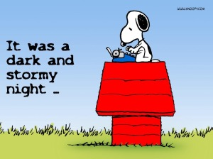Snoopy-the-writer